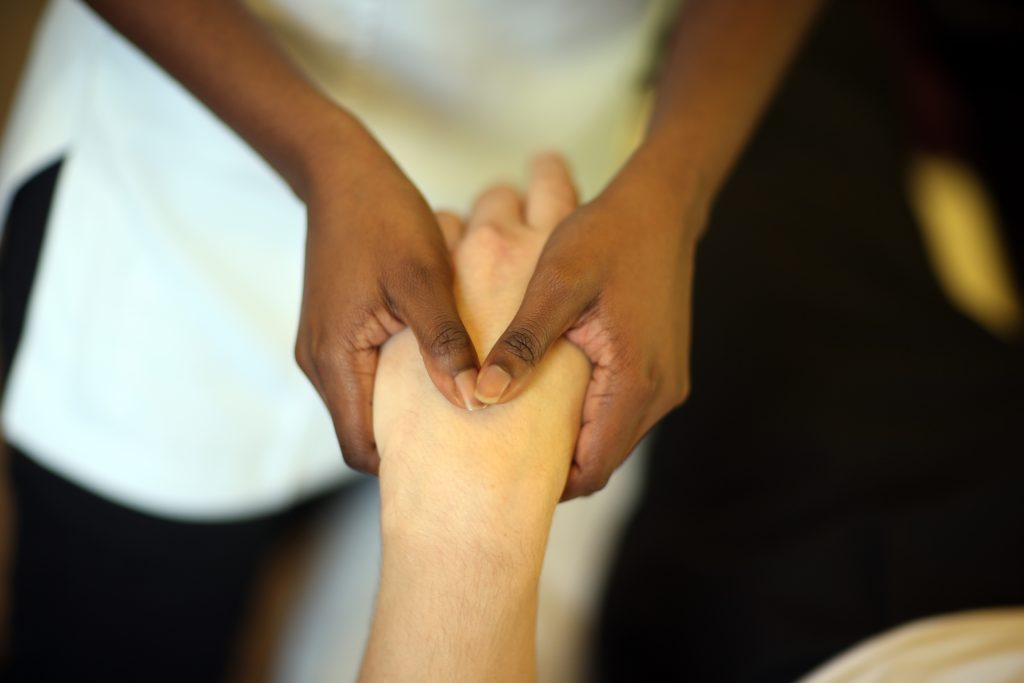 Hands-on treatment for hand or wrist pain in Durham