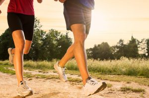 running or fast walking to boost your health and fitness