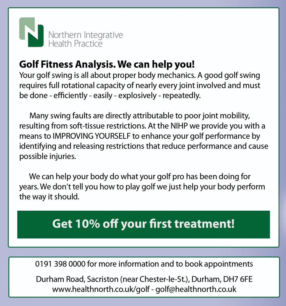 Golf Fitness Analysis in Durham