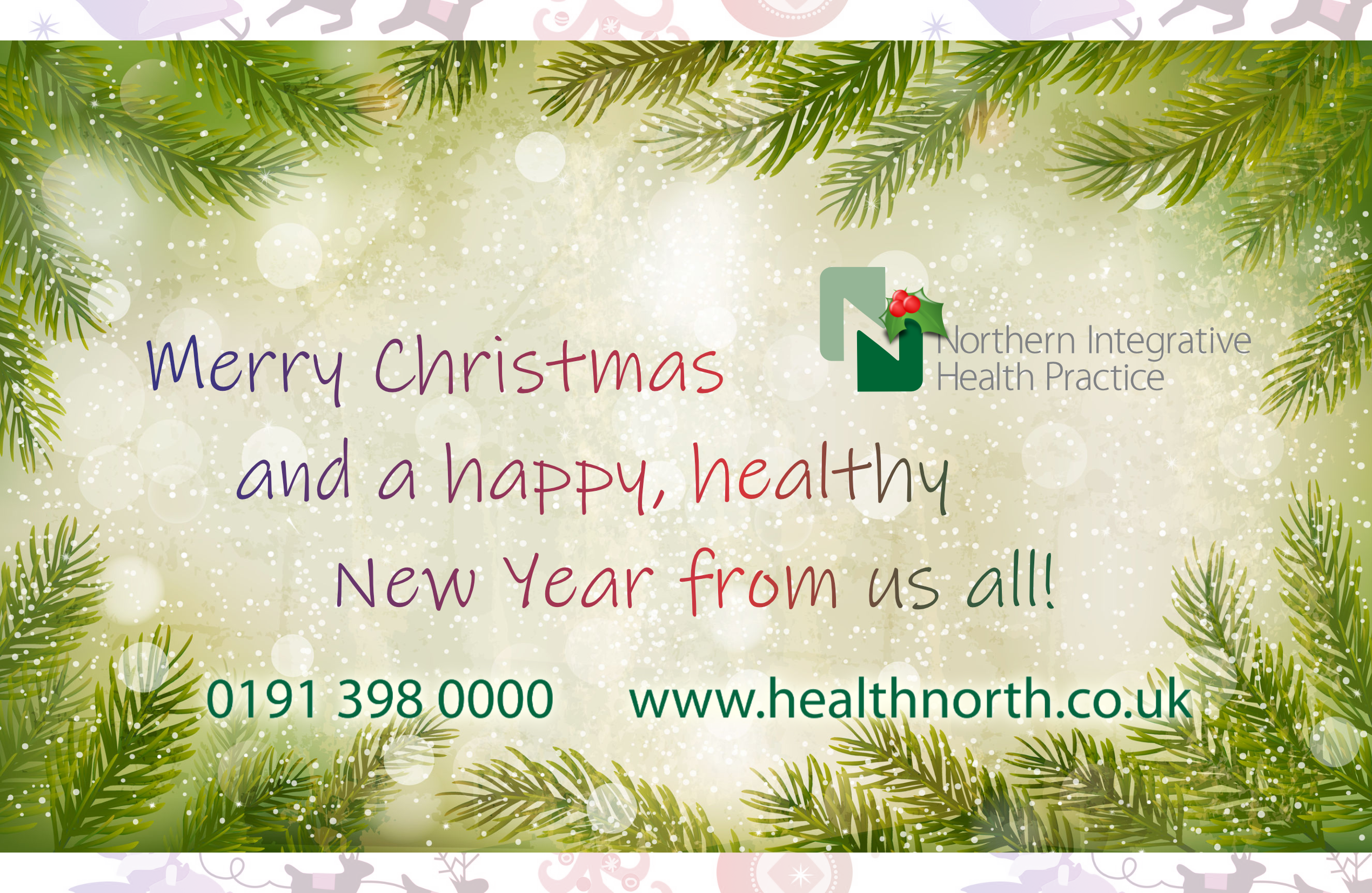 Marry Christmas and a happy, healthy new year from NIHP Durham