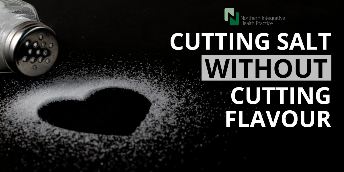 Cutting salt without cutting flavour