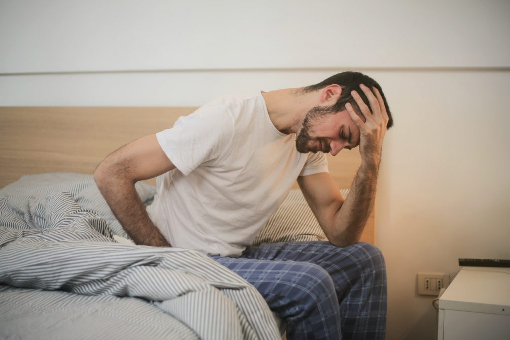 Man with Chronic Pain