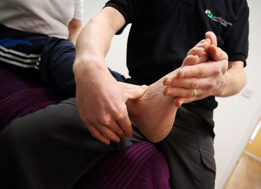 Hands-on treatment for foot pain and ankle pain in Durham