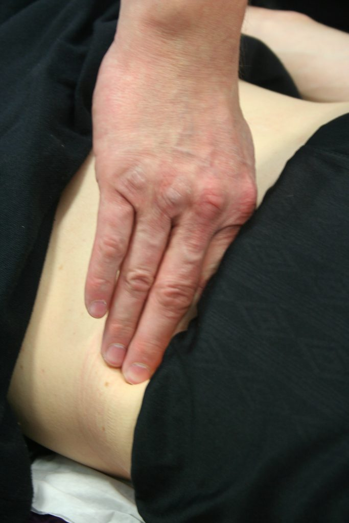 Hands-on treatment for hip pain in Durham