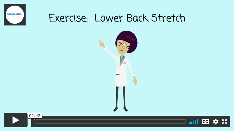 Exercises for back pain - Lower Back Stretch