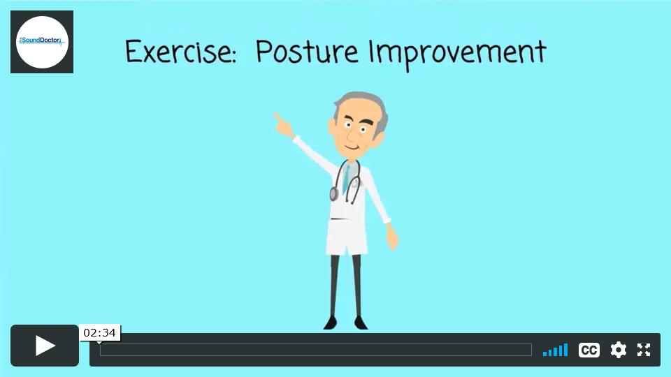 Back pain exercises - Posture Improvement