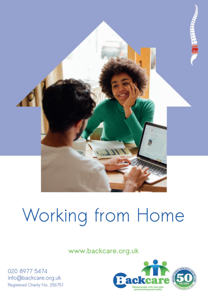 Working from home back care advice